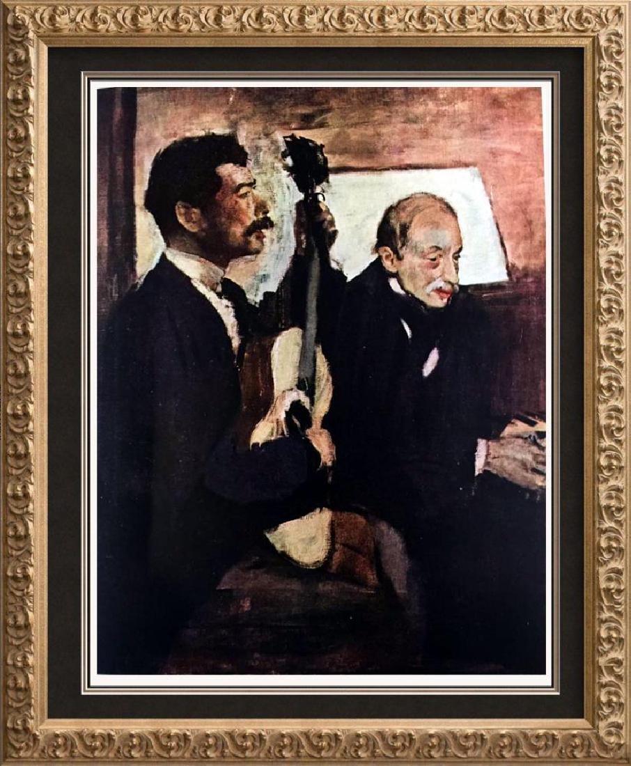 Edgar-Hilaire-Germain Degas Degas' Father Listening to