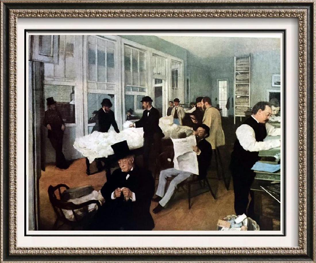 Edgar-Hilaire-Germain Degas The Cotton Market, New