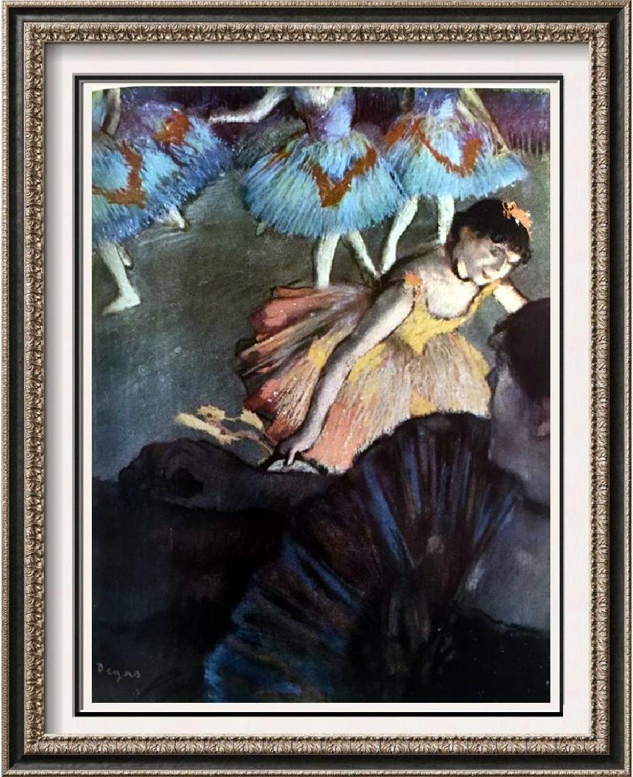 Edgar-Hilaire-Germain Degas A Ballet Seen From an Opera