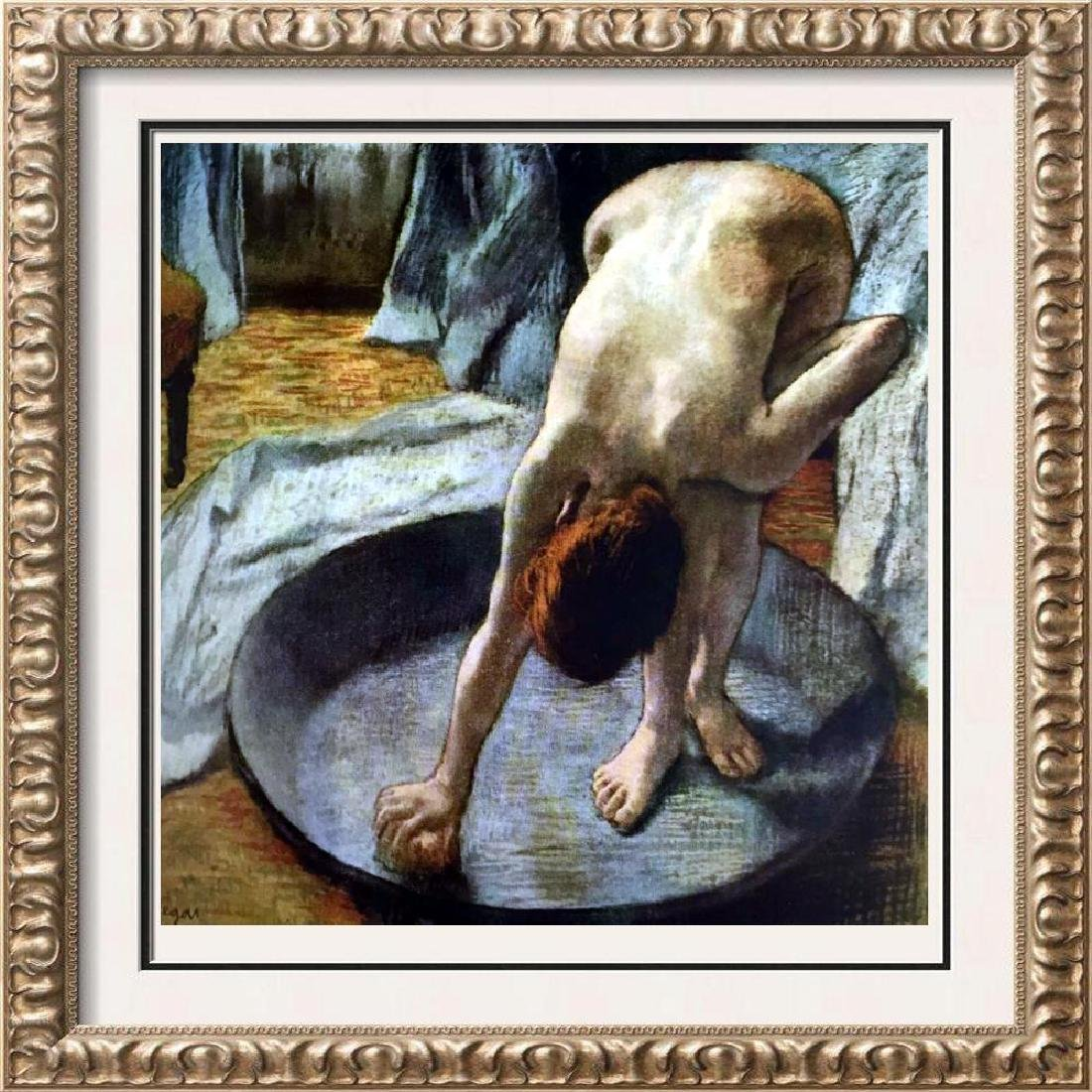Edgar-Hilaire-Germain Degas The Tub c.1886 Fine Art