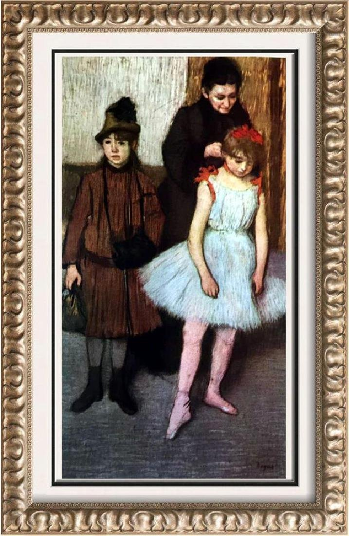 Edgar-Hilaire-Germain Degas The Mante Family c.1889