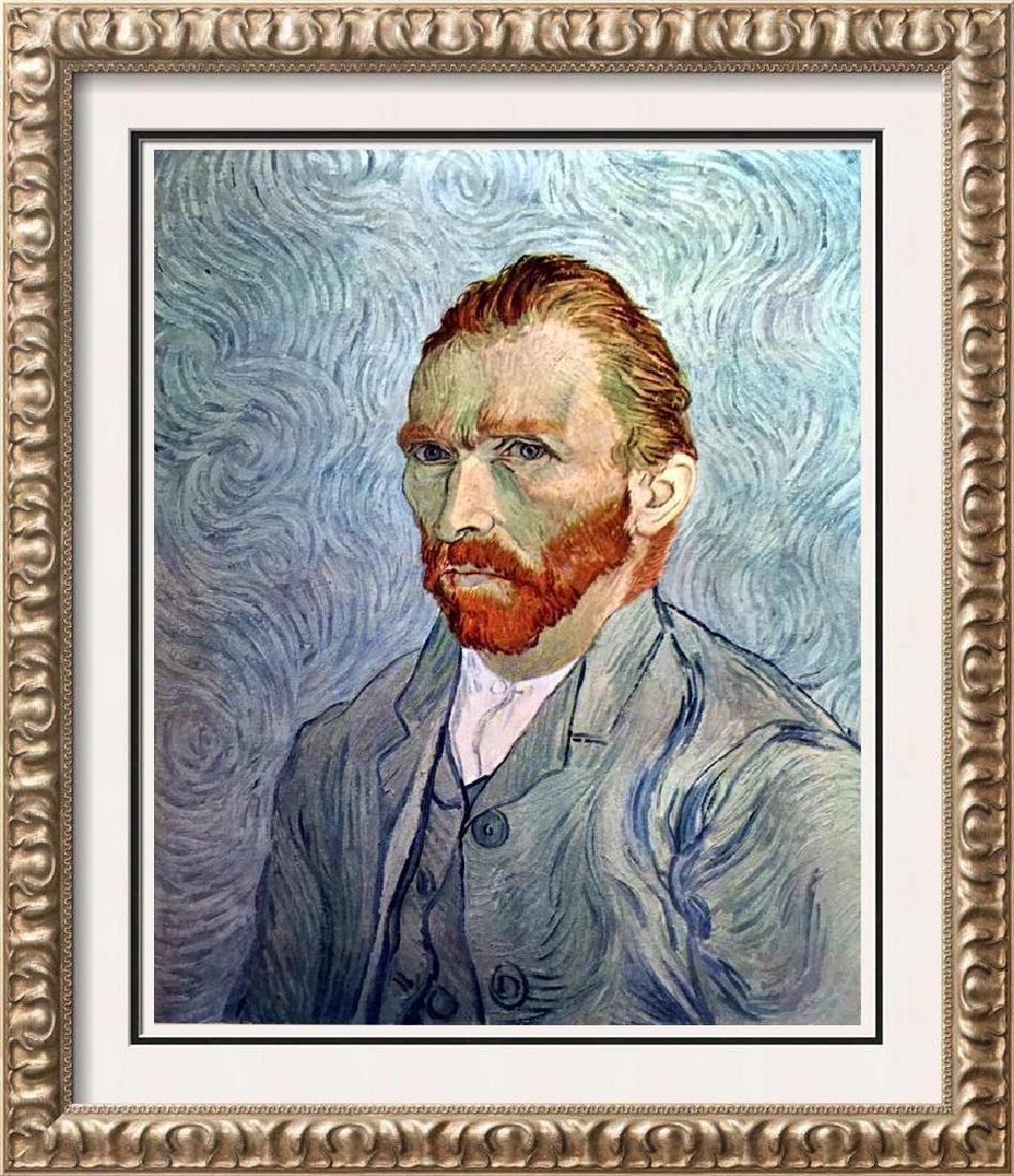 Vincent Van Gogh Portrait of the Artist c.1890 Fine Art