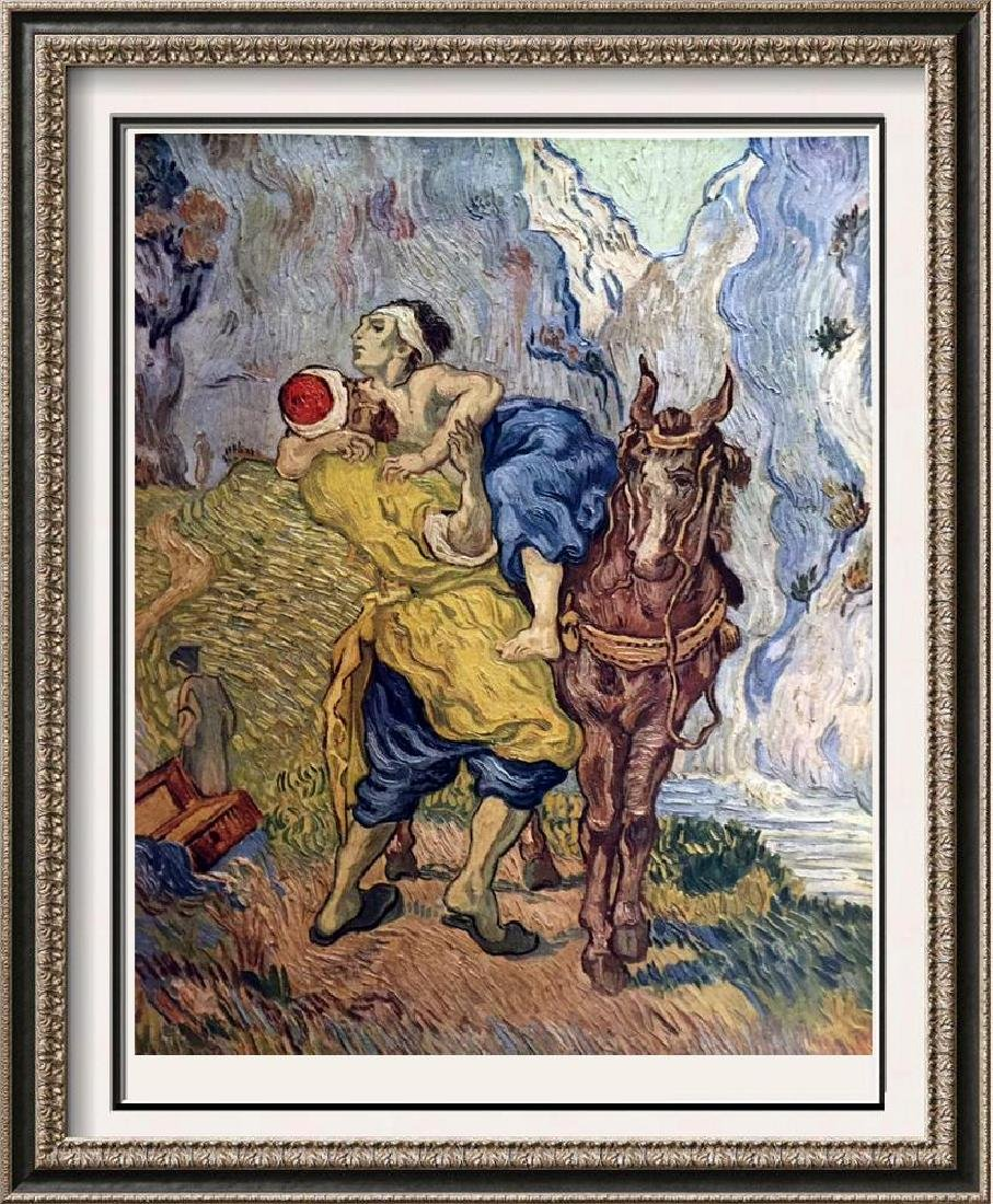 Vincent Van Gogh The Good Samaritan (After Delacroix)