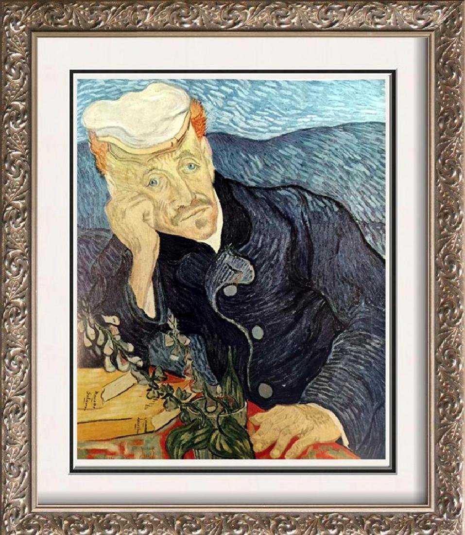 Vincent Van Gogh Portrait of Dr. Gachet c.1890 Fine Art