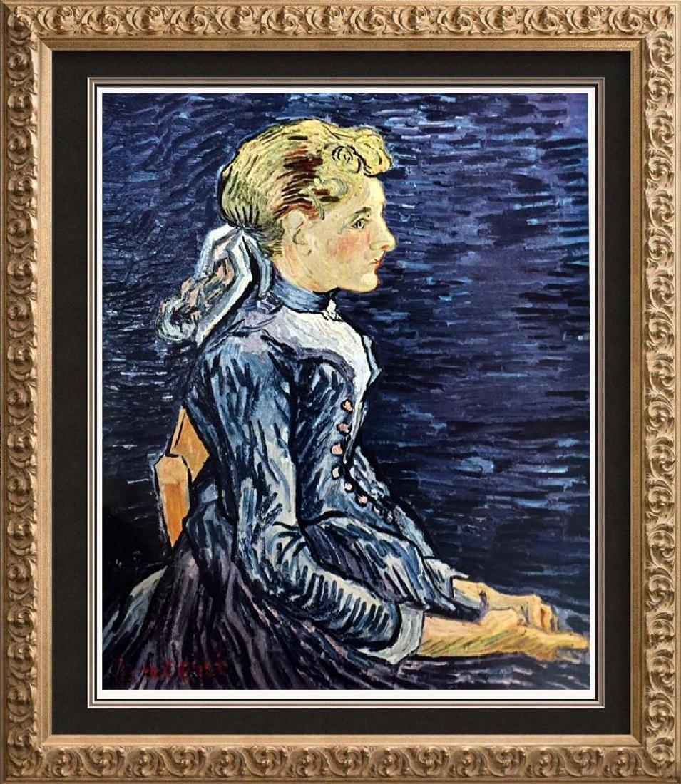 Vincent Van Gogh Mademoiselle Ravoux c.1890 Fine Art
