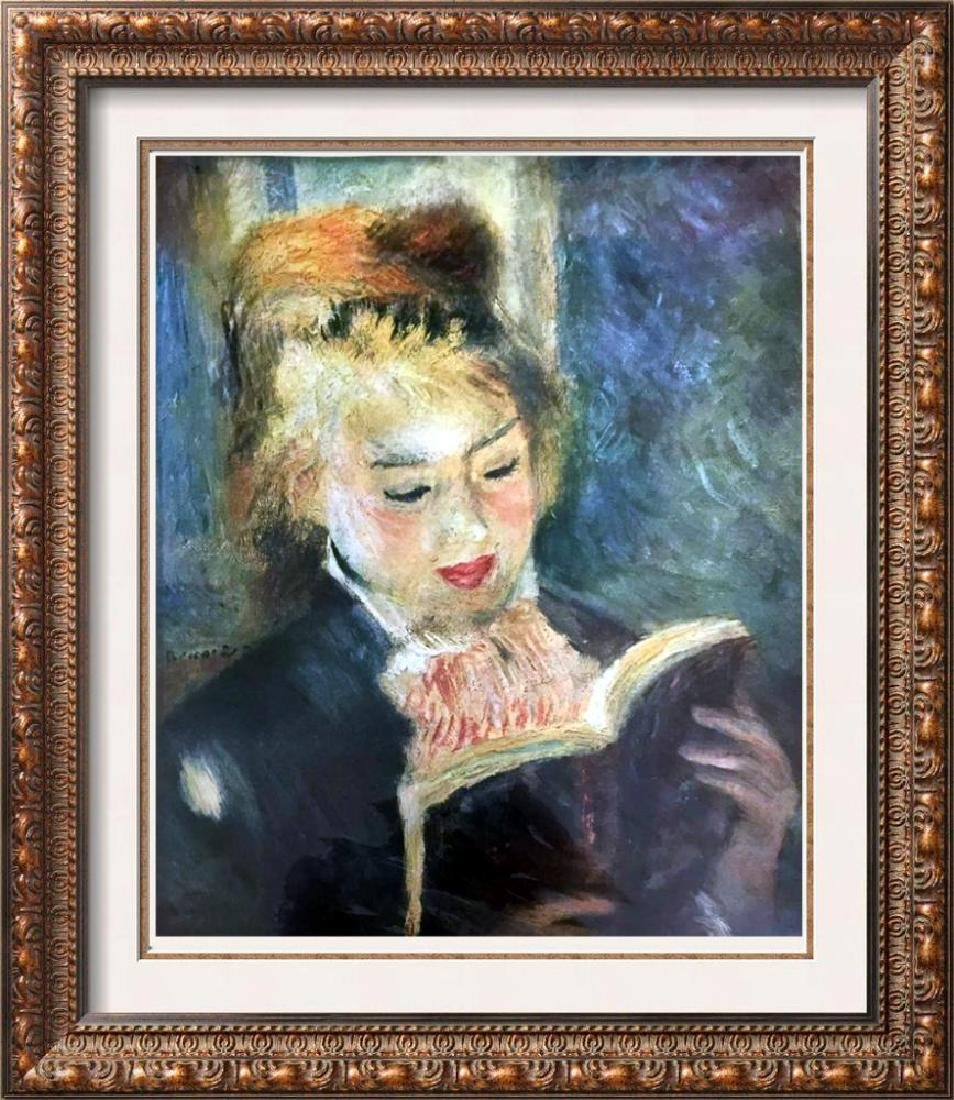 Pierre Auguste Renoir Girl Reading c.1876 Fine Art