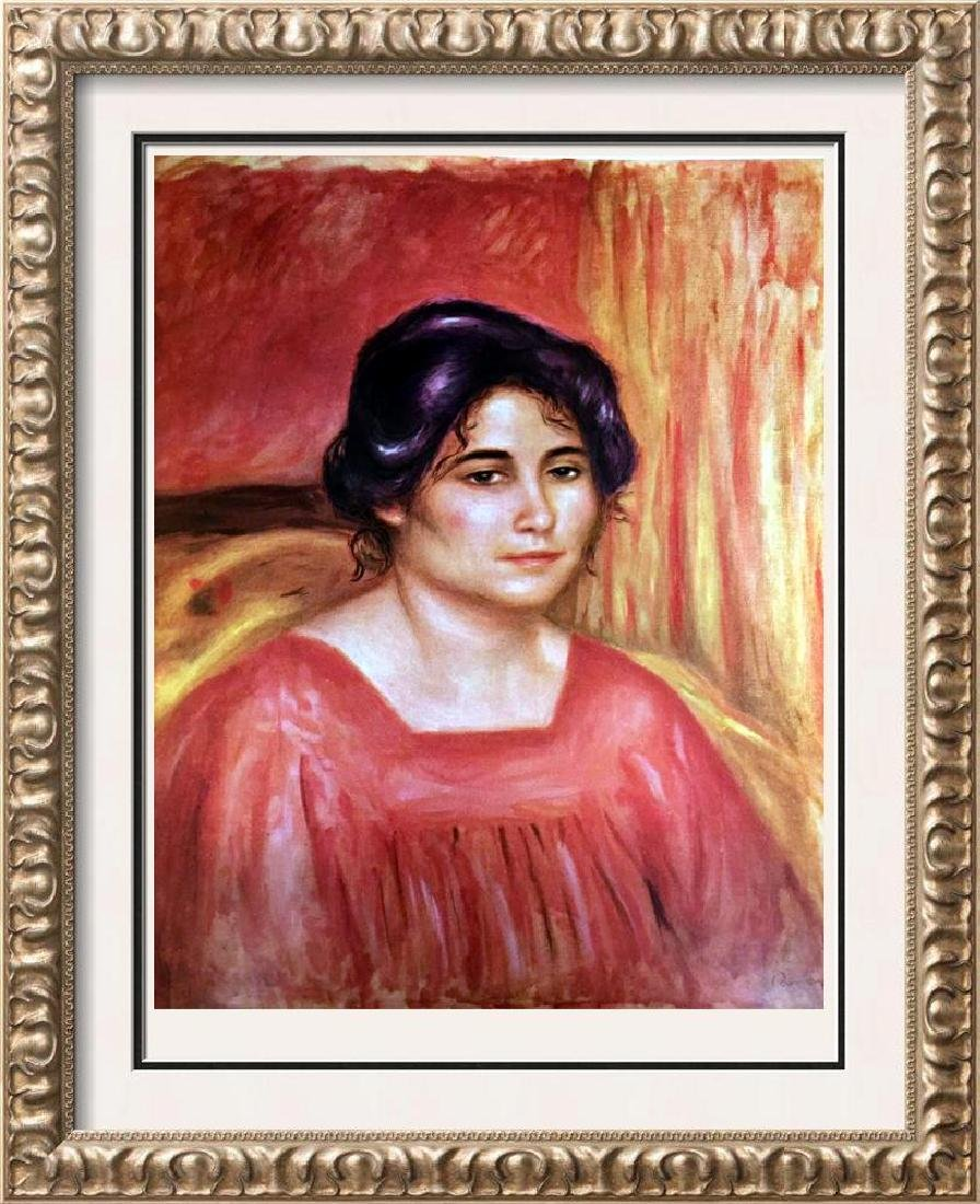 Pierre Auguste Renoir Gabrielle in a Red Blouse c.1910