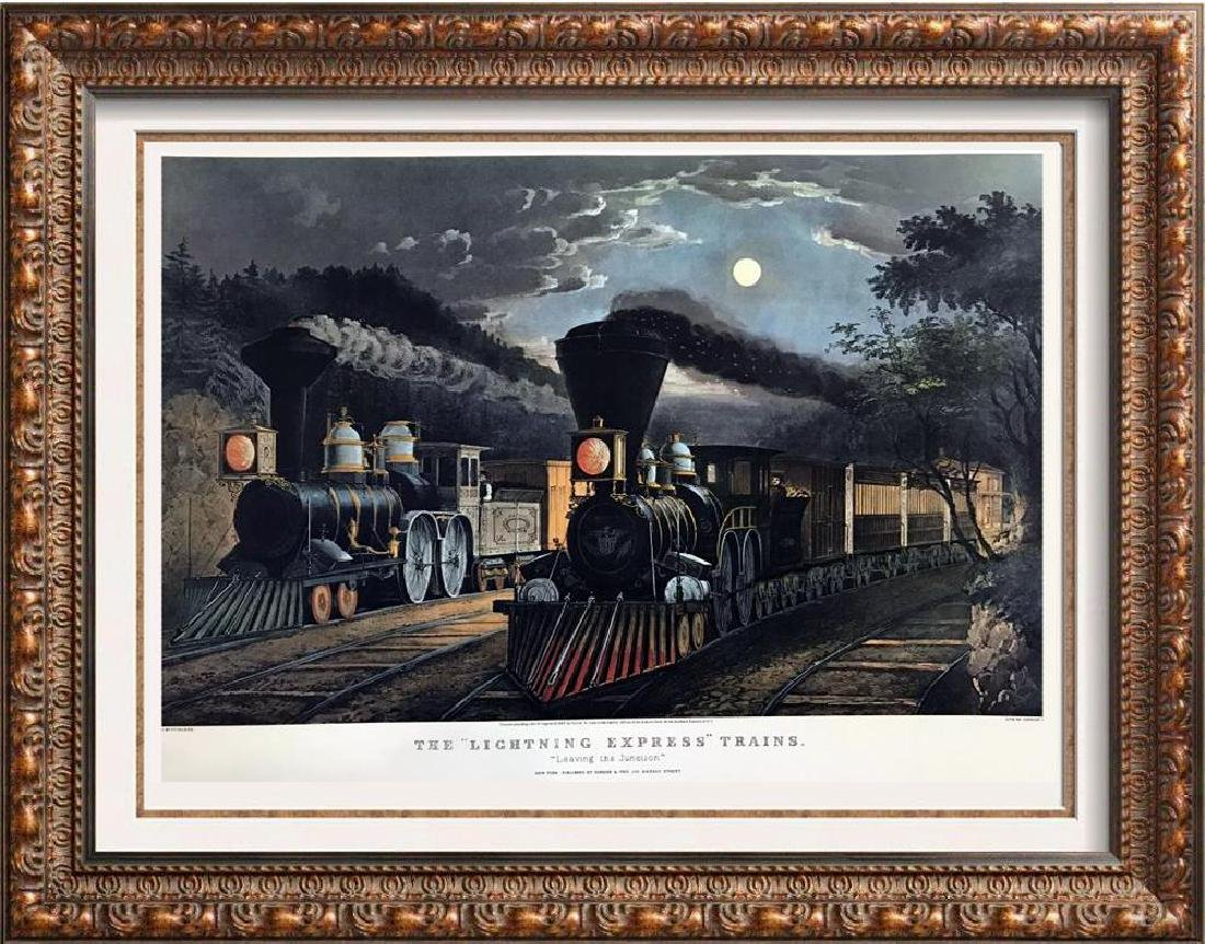 Roy King c.1987 The Lightning Express Trains Heroic