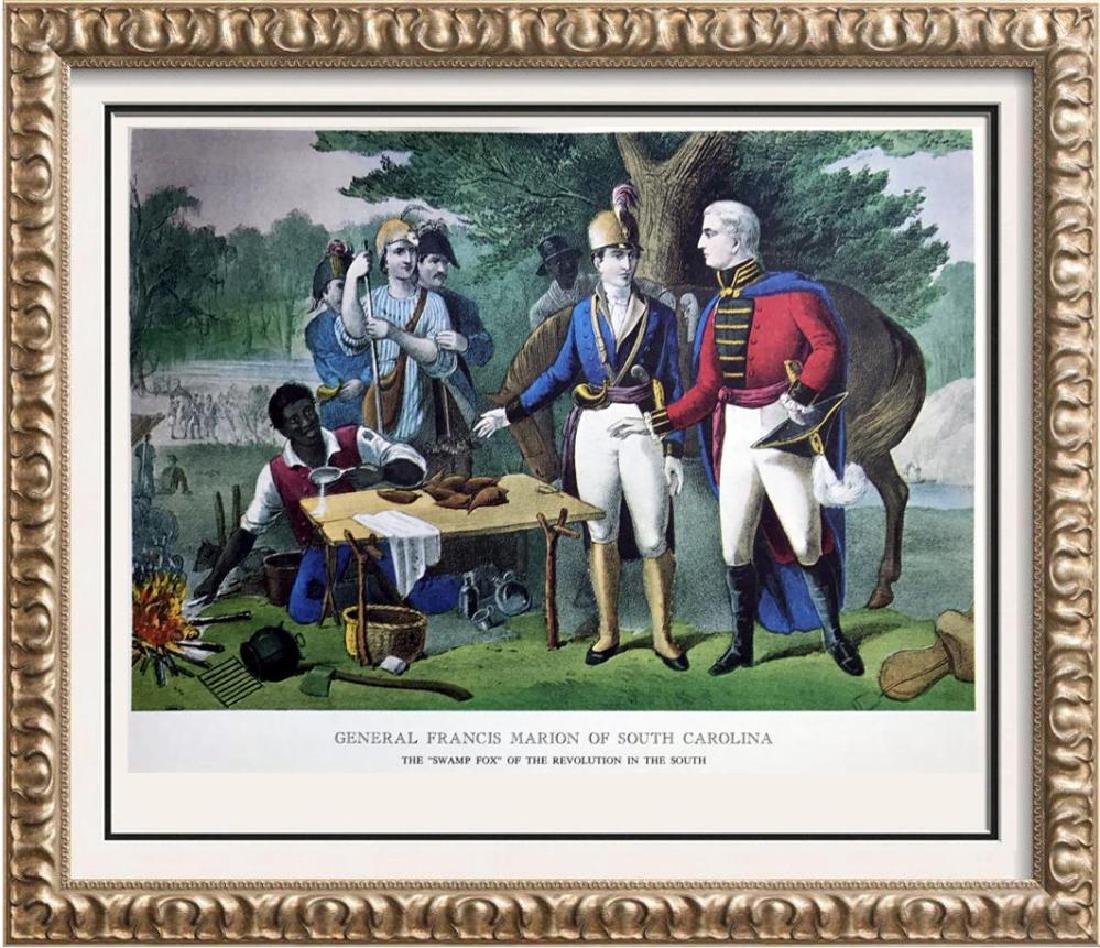 General Francis Marion Of South Carolina Color