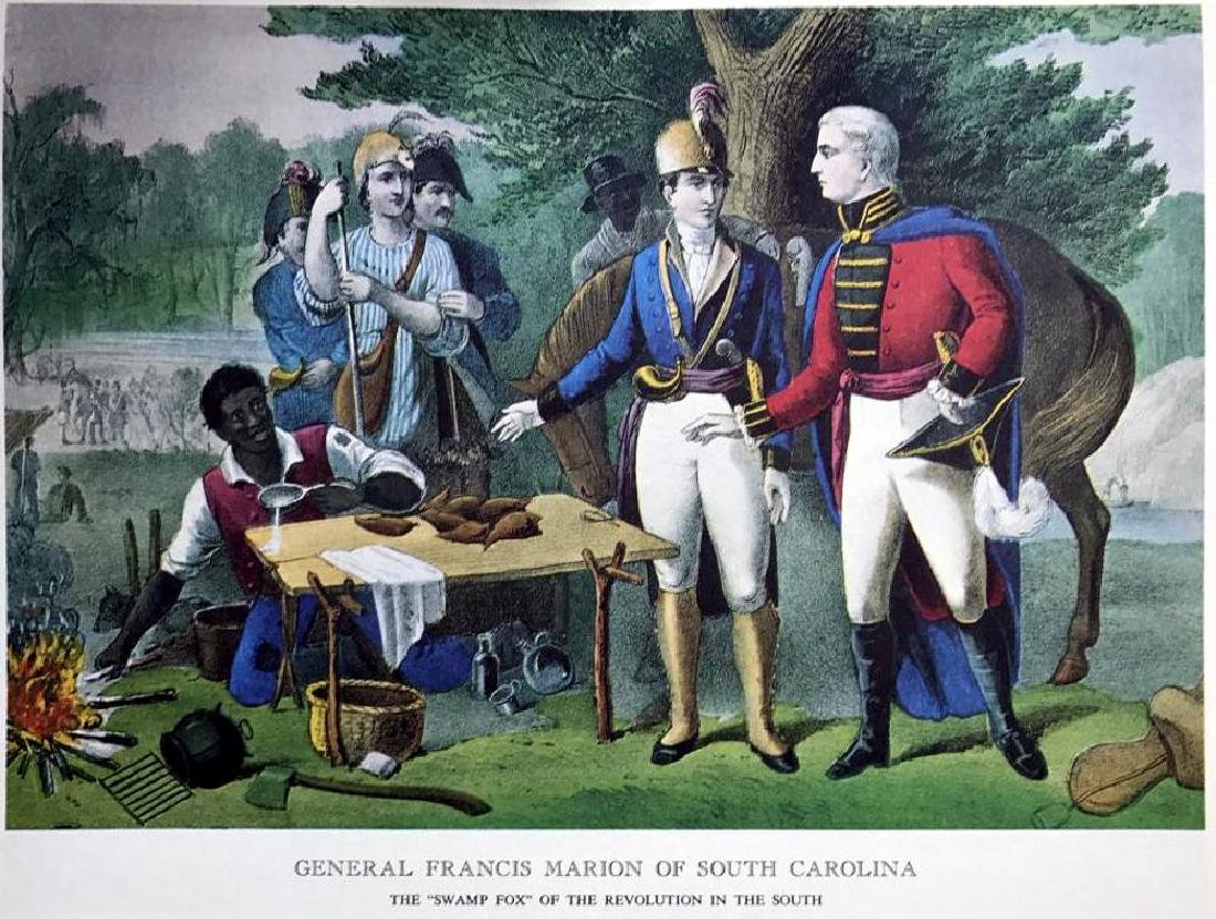 General Francis Marion Of South Carolina Color - 2