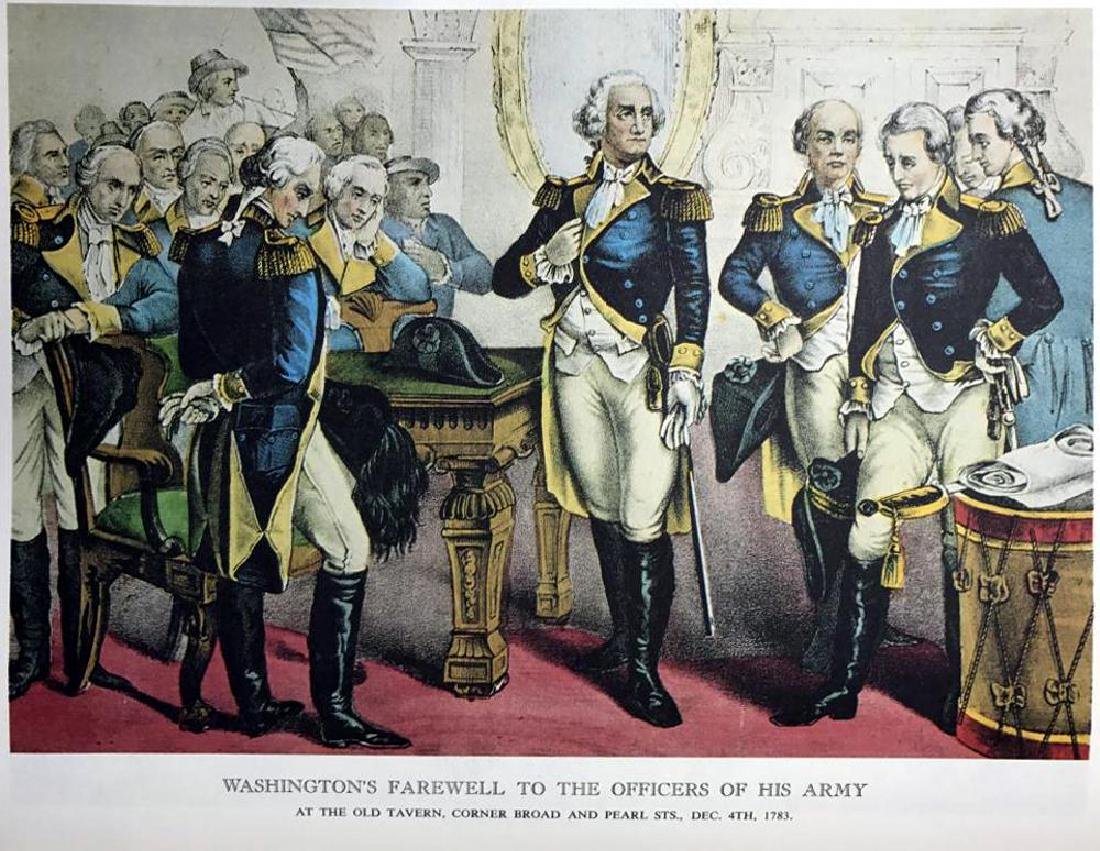 Washington's Farewell To The Officers Of His Army Color - 2