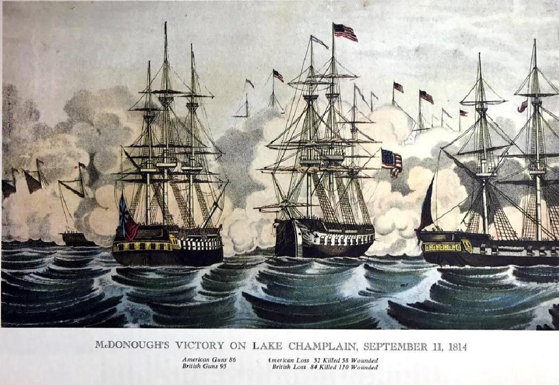 Macdonough's Victory On Lake Champlain Color - 2