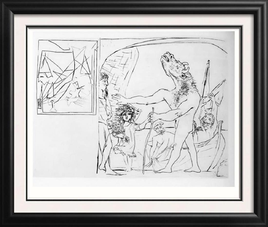Pablo Picasso 'After'  Blind Minotaur c. 1934 Fine Art