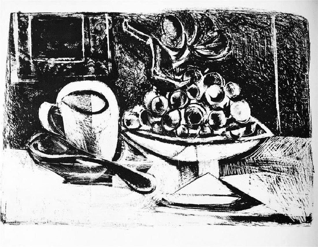 Pablo Picasso 'After'  Still Life with Fruit bowl c. - 2
