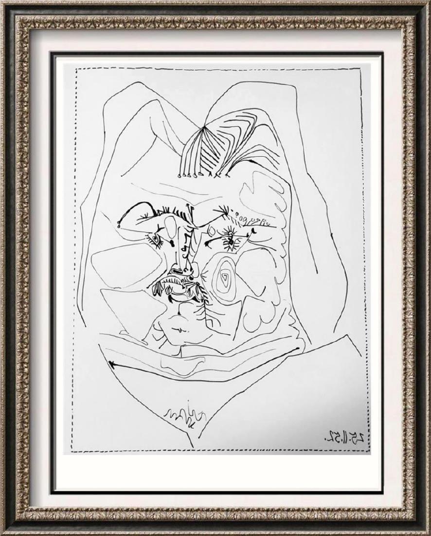 Pablo Picasso 'After'  Head of Balzac c. 1952 Fine Art