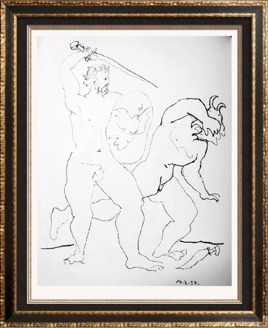 Pablo Picasso 'After'  La Guerre et la Paix c. 1954