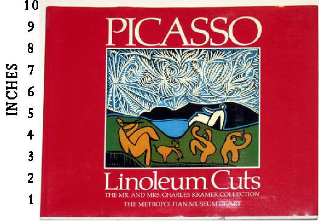DEALER ART BOOK PABLO PICASSO Linoleum Cuts c.1985 NEW