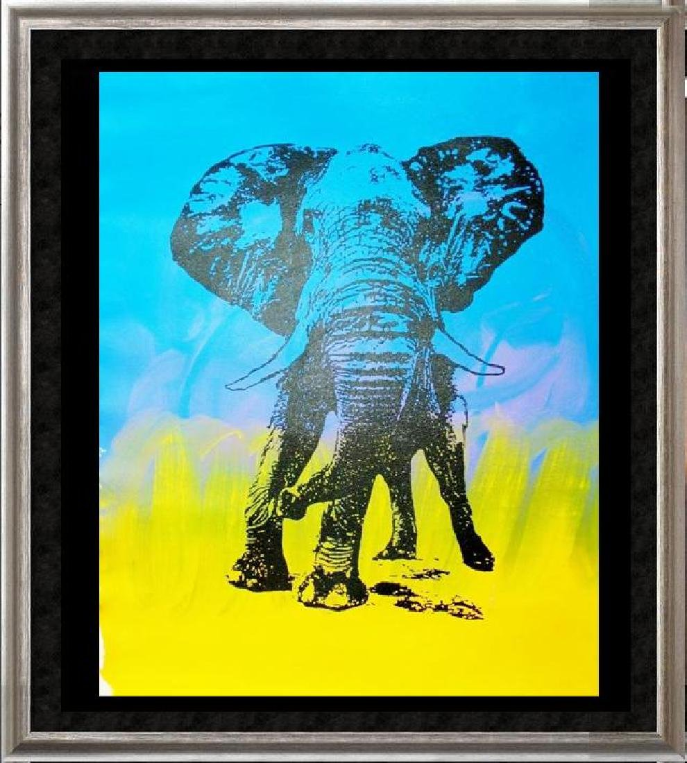 ELEPHANT HUGE SALE POP CANVAS COLORFUL