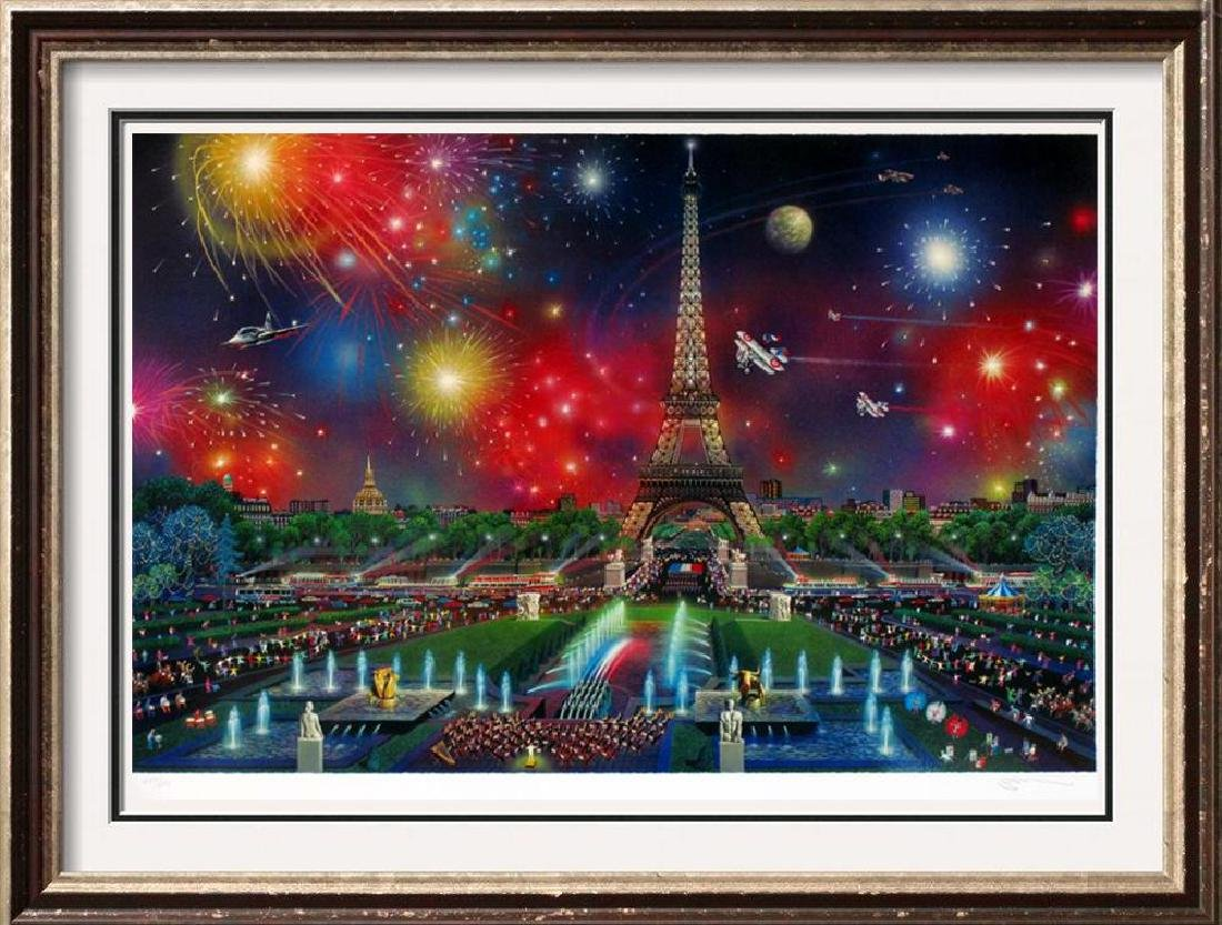 PARIS EIFFEL TOWER COLLECTIBLE ART HUGE DEALER SALE