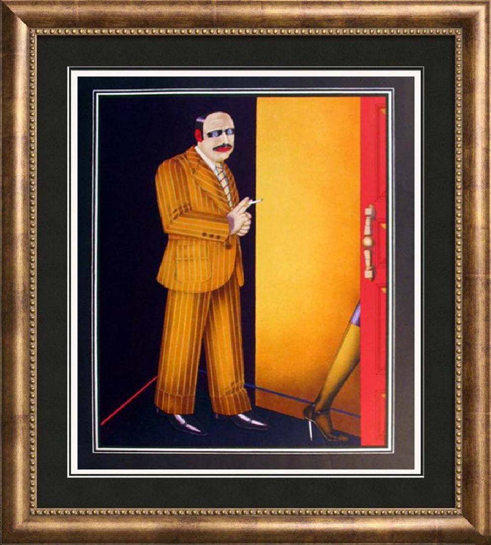 Shimon Okshteyn Lithographic Poster Rare Find
