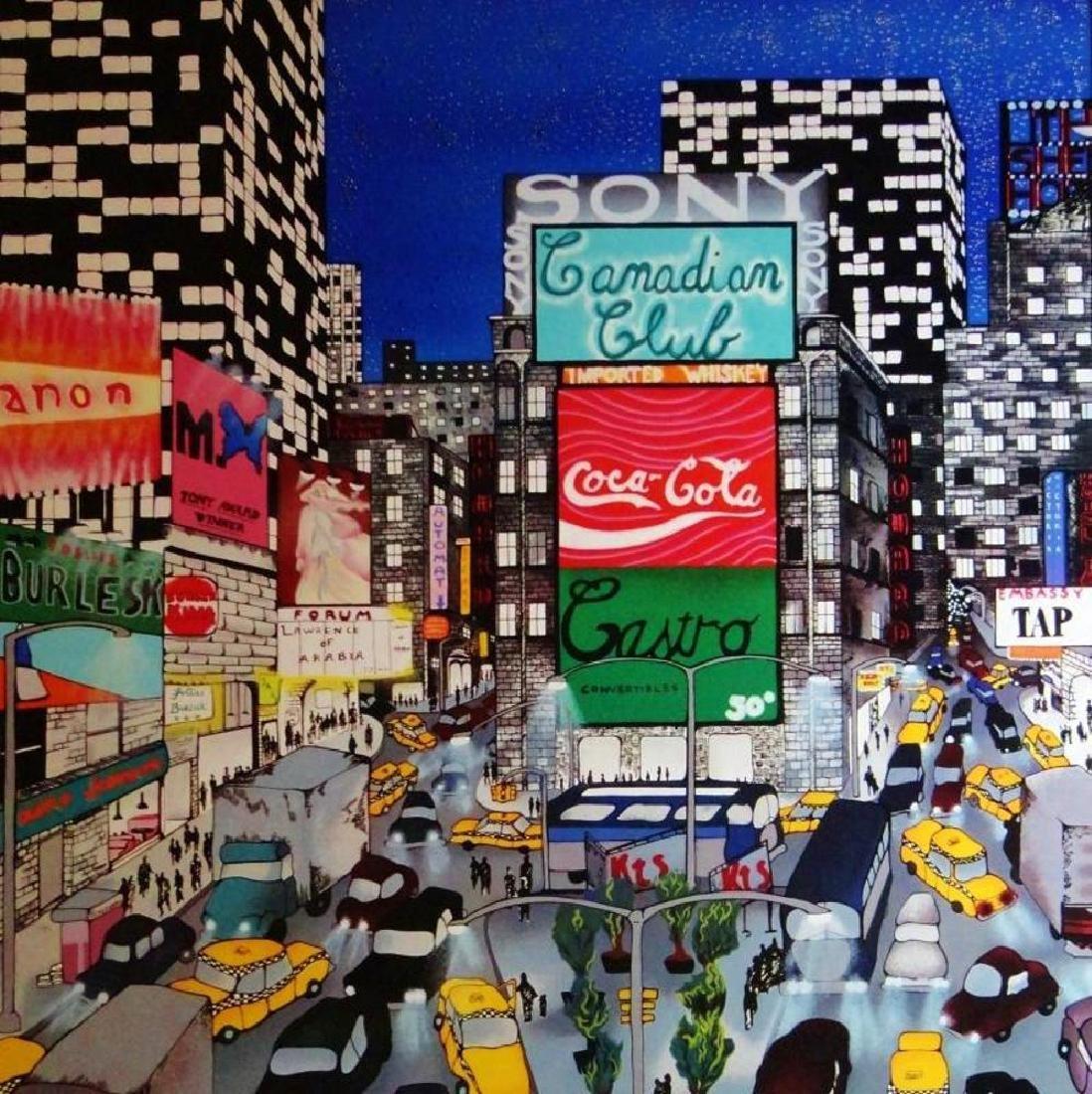 Times Square New York Collectible Colorful Pergola - 2