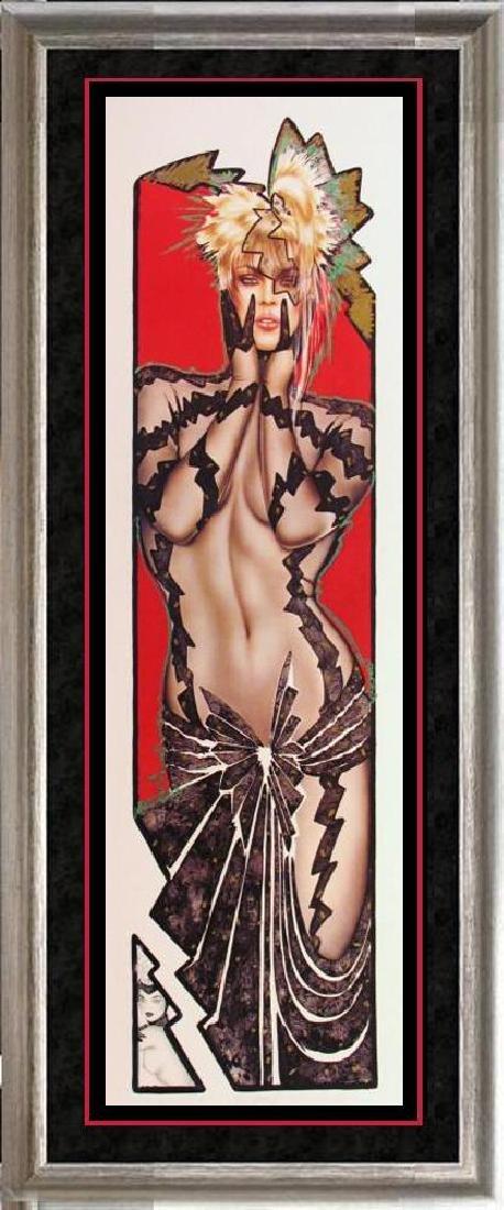Playboy Edition Olivia Rare Litho Hand Signed Sale
