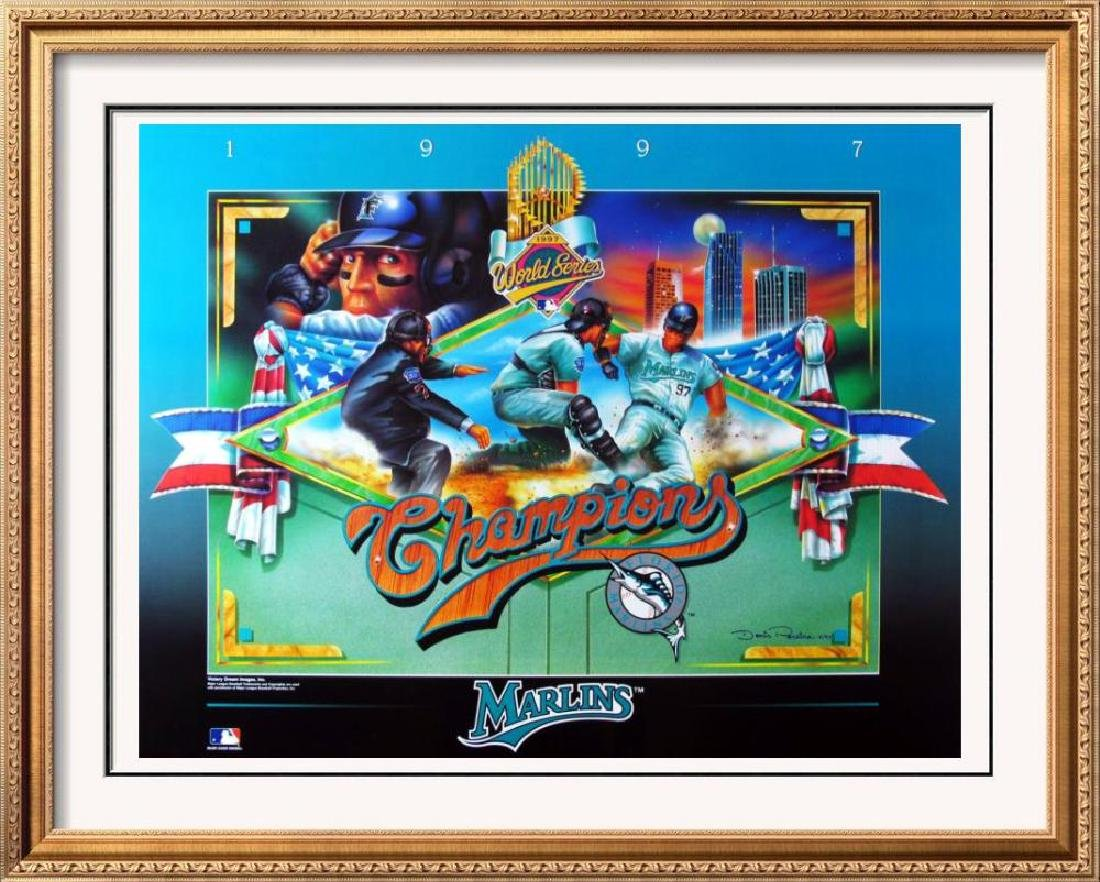 Florida Marlins Championship Poster Only $10