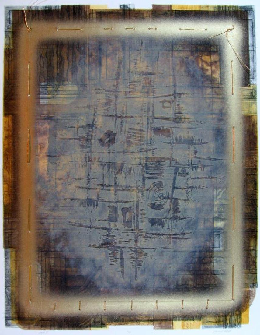 Lithograph Textured Limited Edition Signed Art