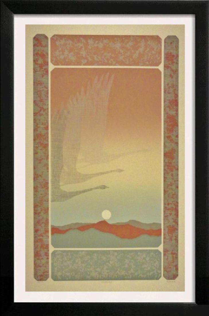 Beautiful Abstract Bird Flight Signed Limited Edition