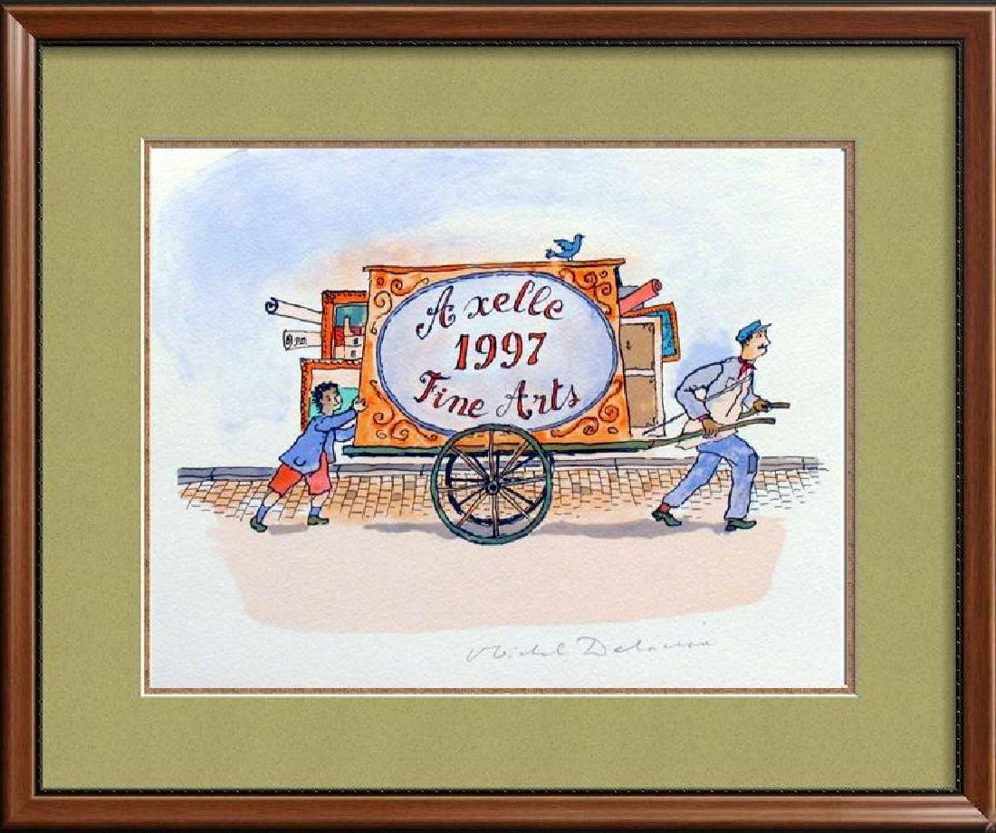 Delacroix Litho 1997 Only $25 Art Sale