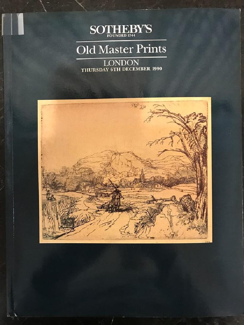 "Sotheby's ""Old Master Prints"""