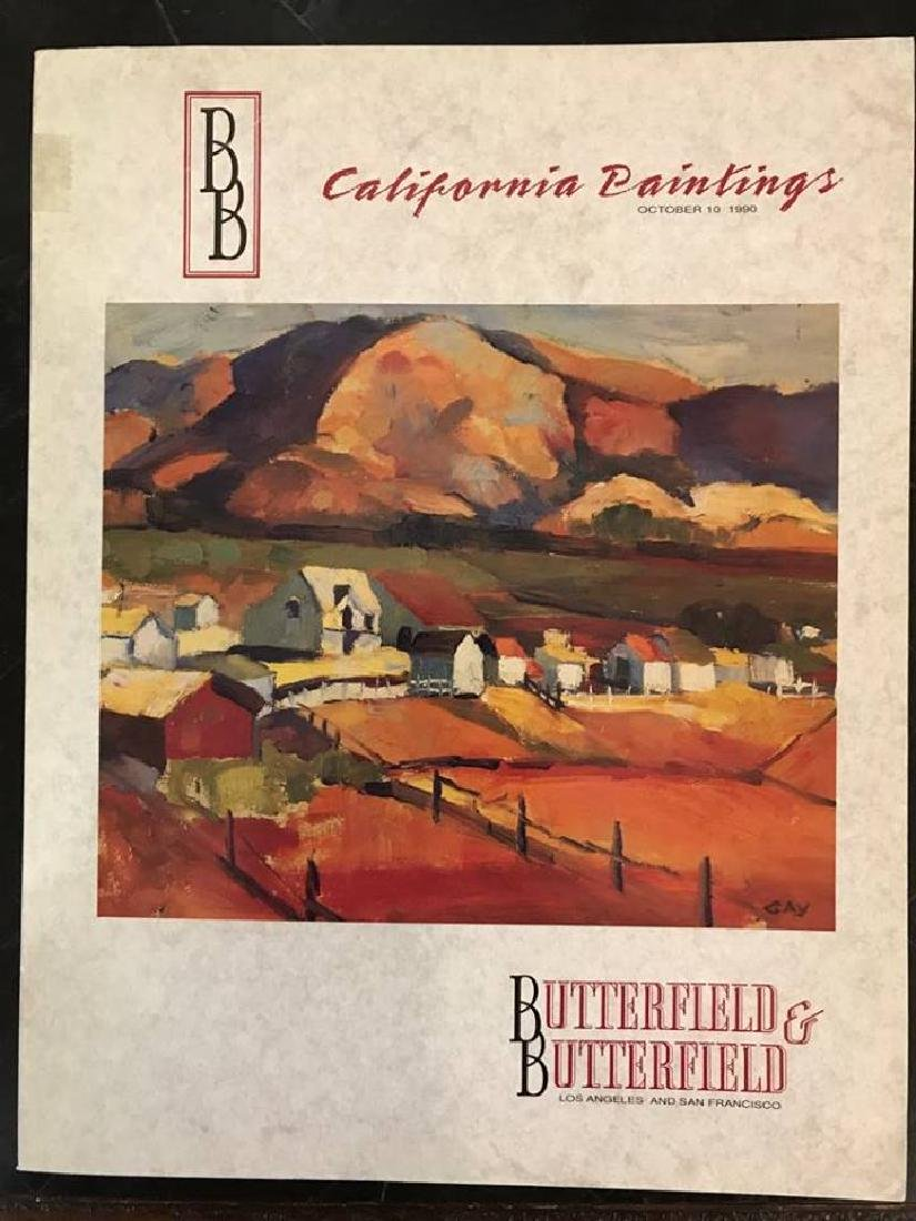 "Butterfield & Butterfield ""California Paintings"""