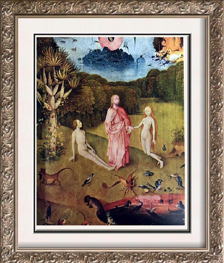 Hieronymus Bosch The Garden of Worldly Delights  (Left