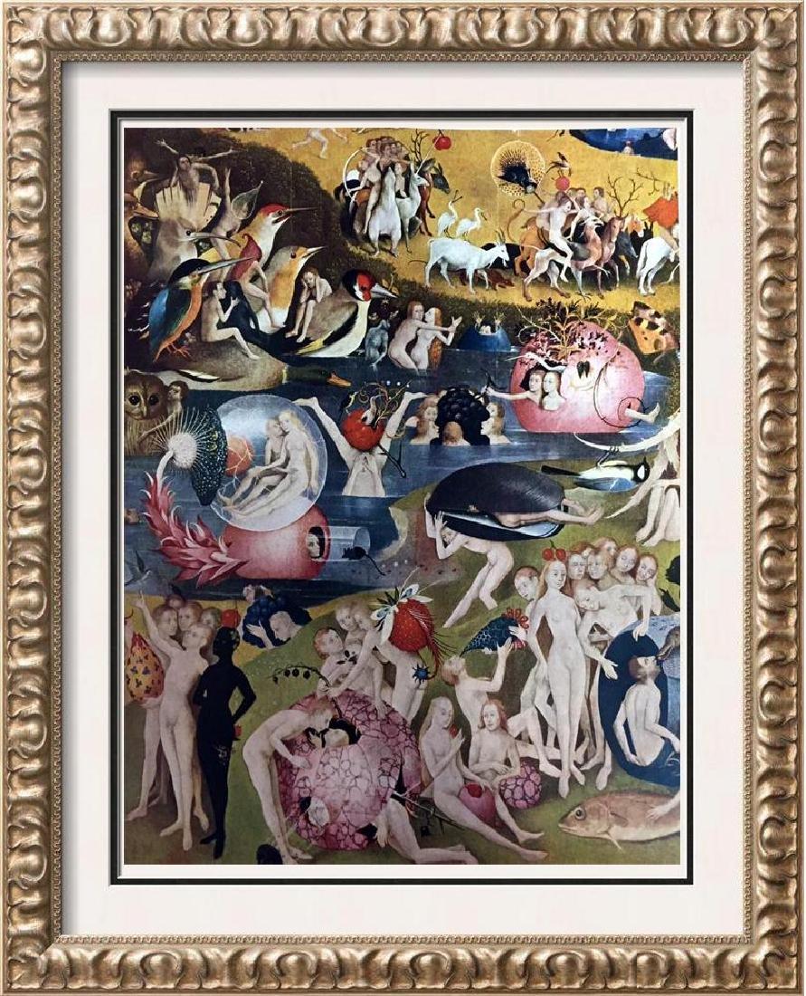 Hieronymus Bosch The Garden of Worldly Delights (Detail