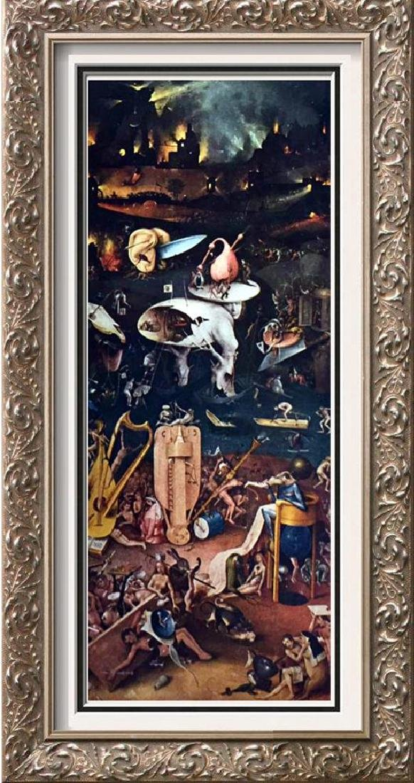Hieronymus Bosch The Garden of Worldly Delights (Right