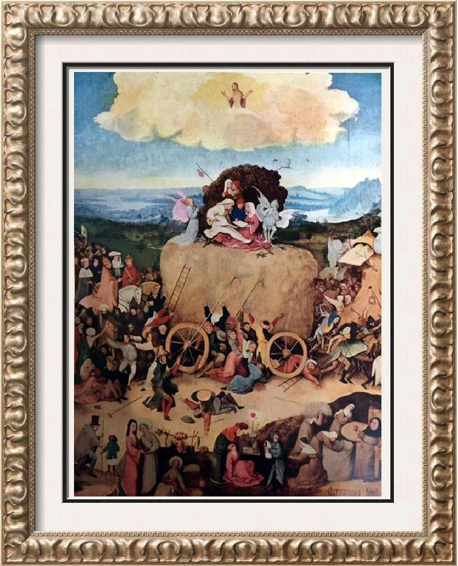 Hieronymus Bosch The Hay-wain c.1450-1516 Fine Art