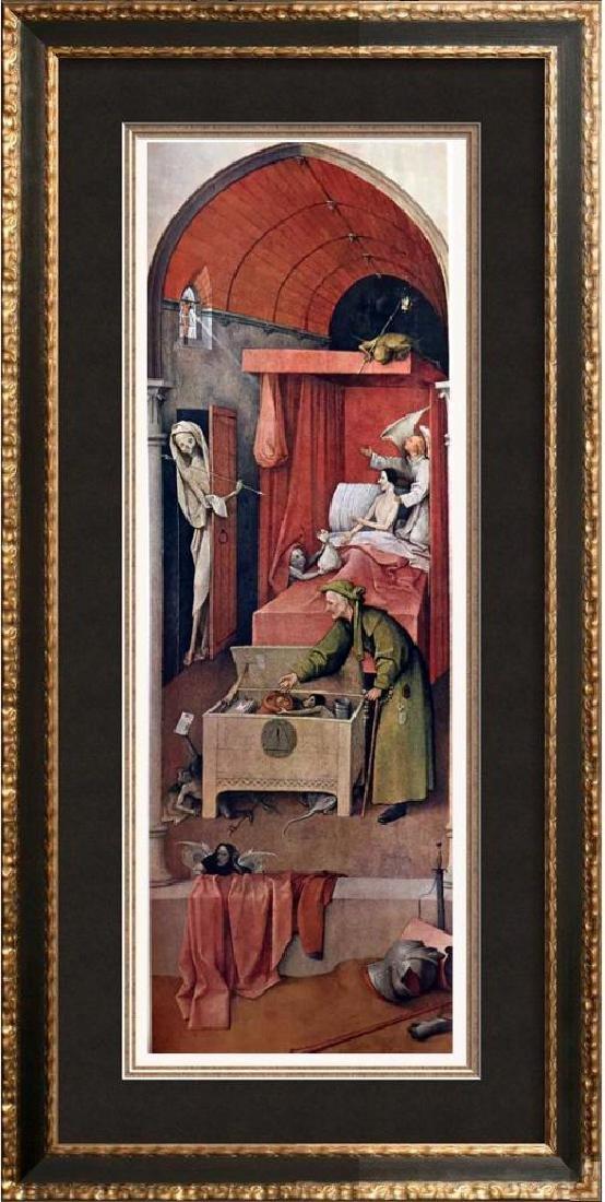 Hieronymus Bosch Death and the Miser c.1450-1516 Fine