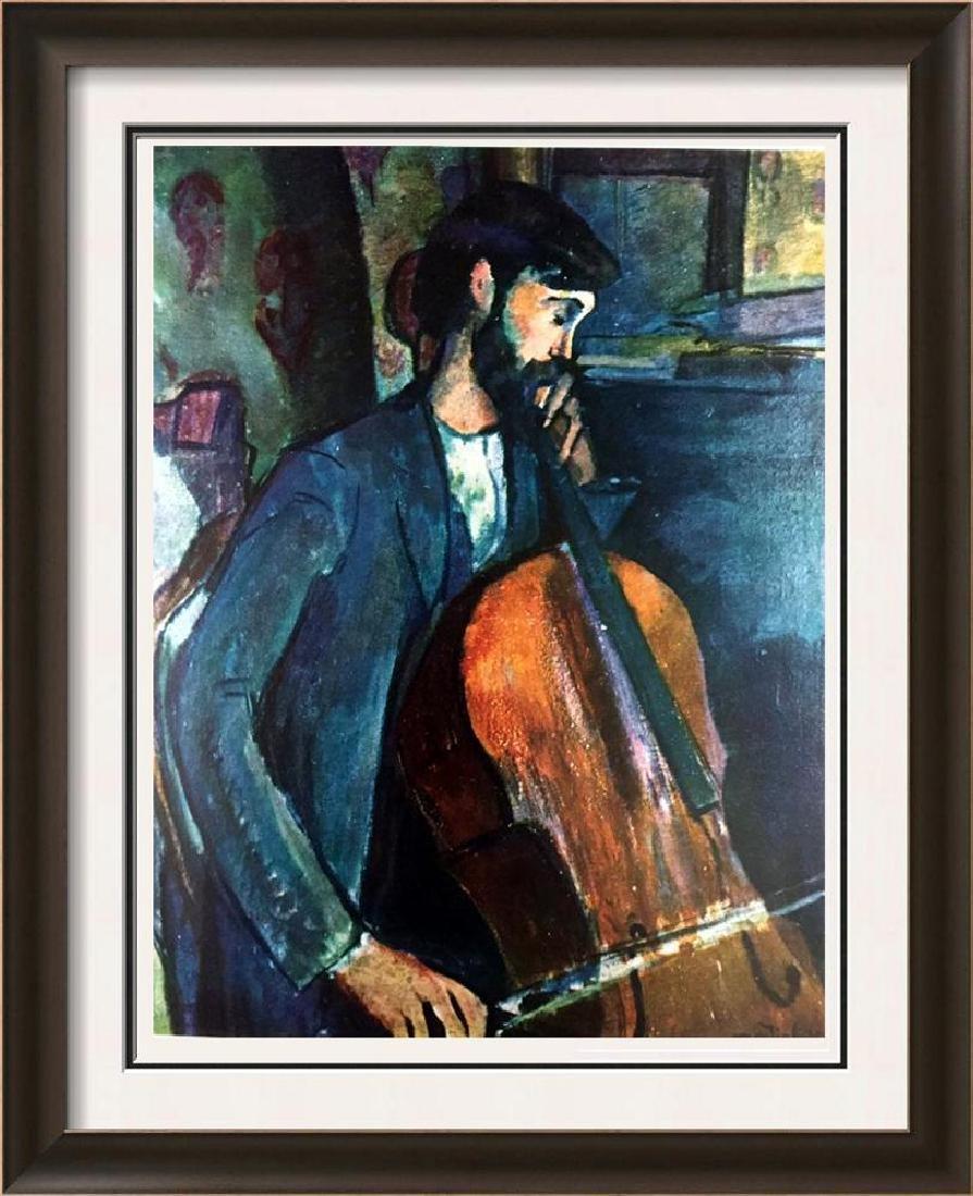 Amedeo Modigliani The Cellist (Study) c.1909 Fine Art