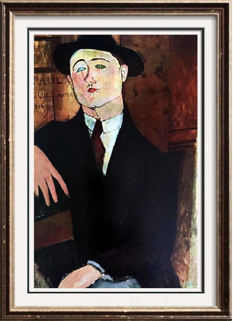 Amedeo Modigliani Paul Guillaume c.1916 Fine Art Print
