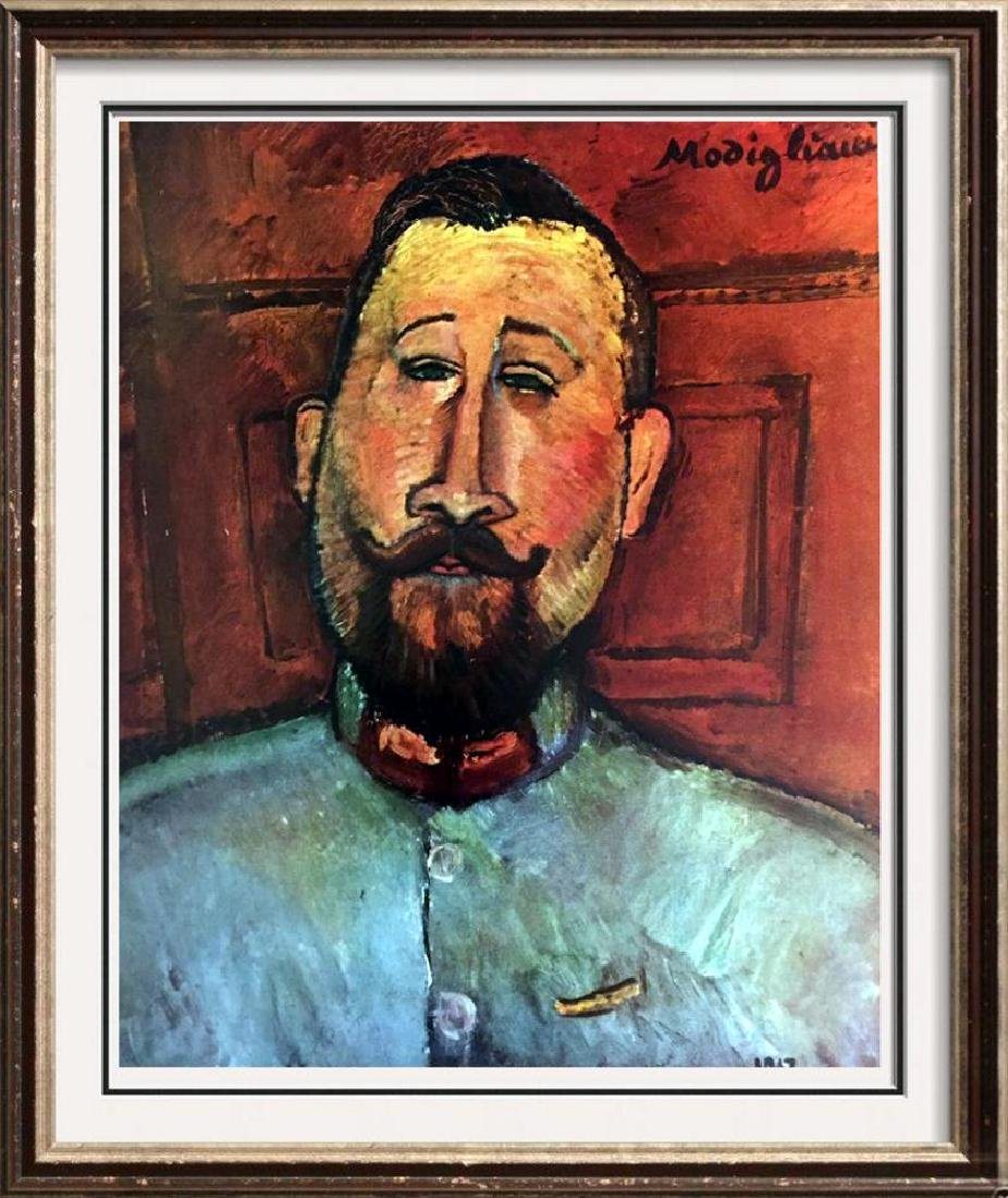 Amedeo Modigliani Dr. Devaraigne c.1917 Fine Art Print