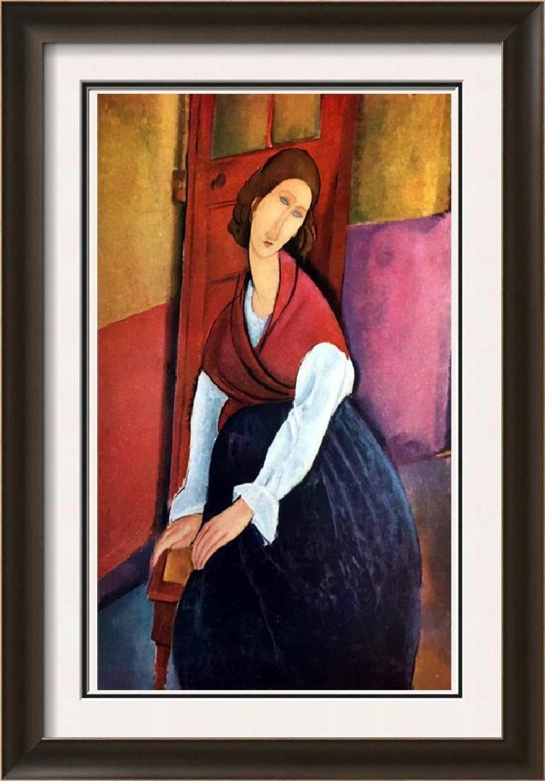 Amedeo Modigliani Jeanne Hebuterne c.1919 Fine Art