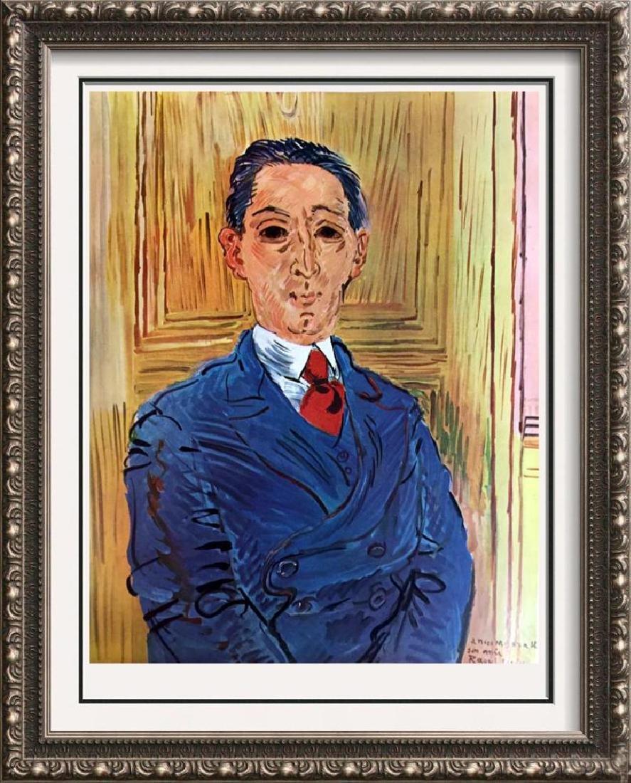 Raoul Dufy Portrait of M. Nico Mazaraki c.1932 Fine Art