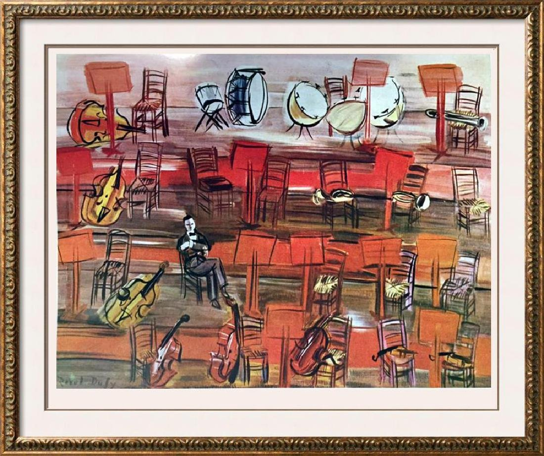 Raoul Dufy Intermissions c.1945 Fine Art Print Signed