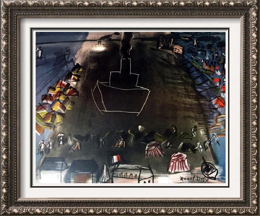 Raoul Dufy Black Freighter II c.1948 Fine Art Print