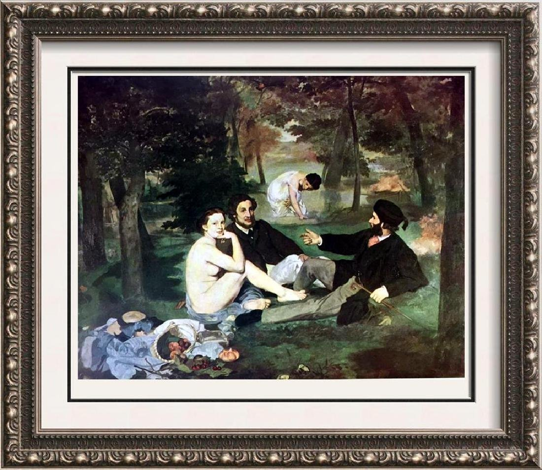 Edouard Manet Luncheon on the Grass c.1863 Fine Art