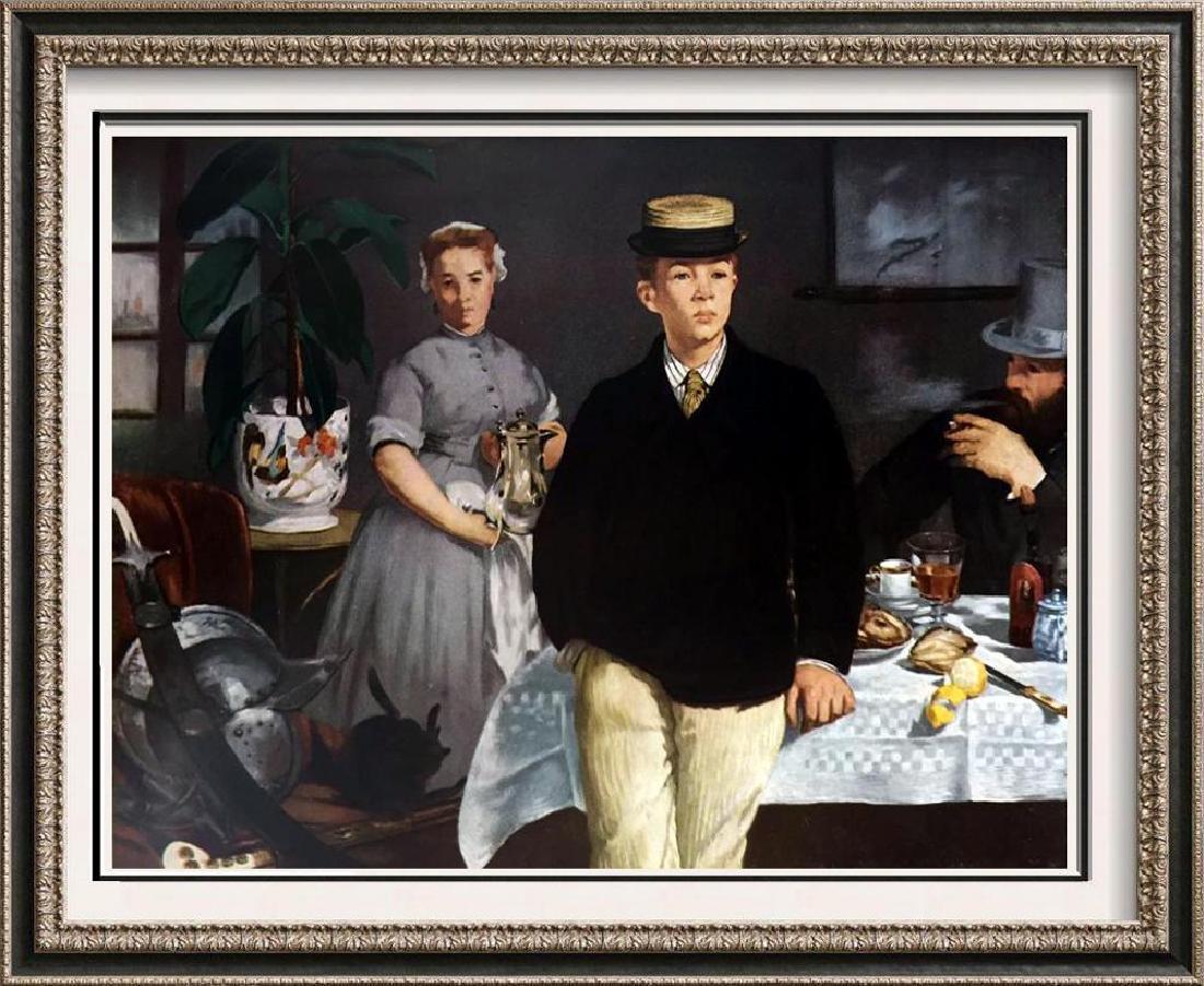 Edouard Manet Luncheon in the Studio c.1868 Fine Art