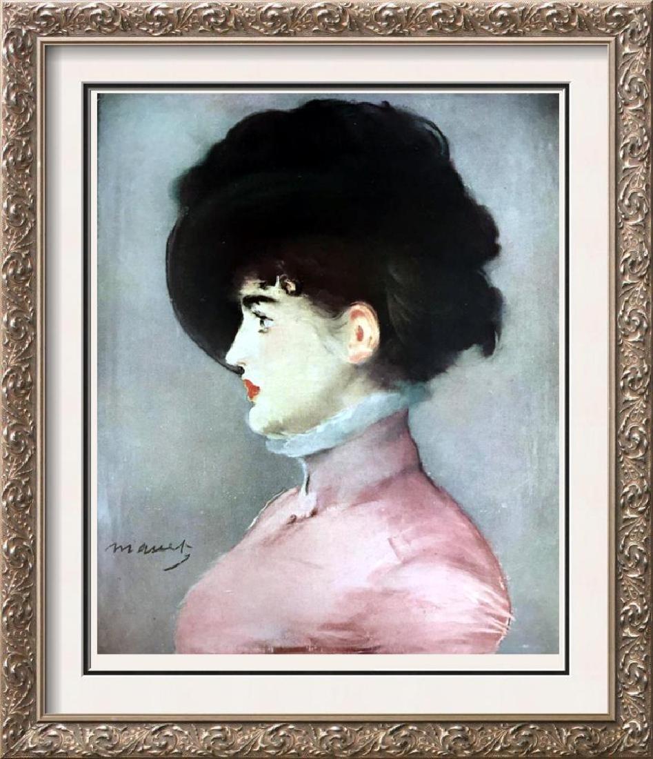 Edouard Manet Portrait of Iram Brunner c.1882 Fine Art