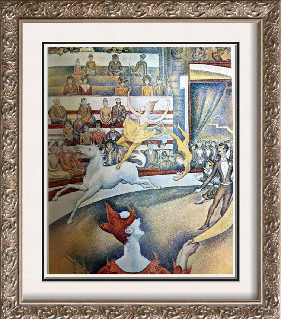 Georges Seurat The Circus c.1891 Fine Art Print