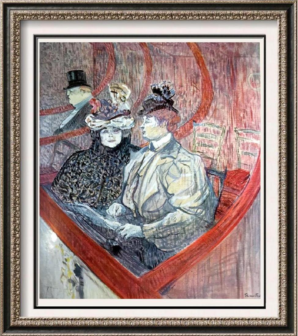 Henri de Toulouse-Lautrec La Grande Loge c.1897 Fine