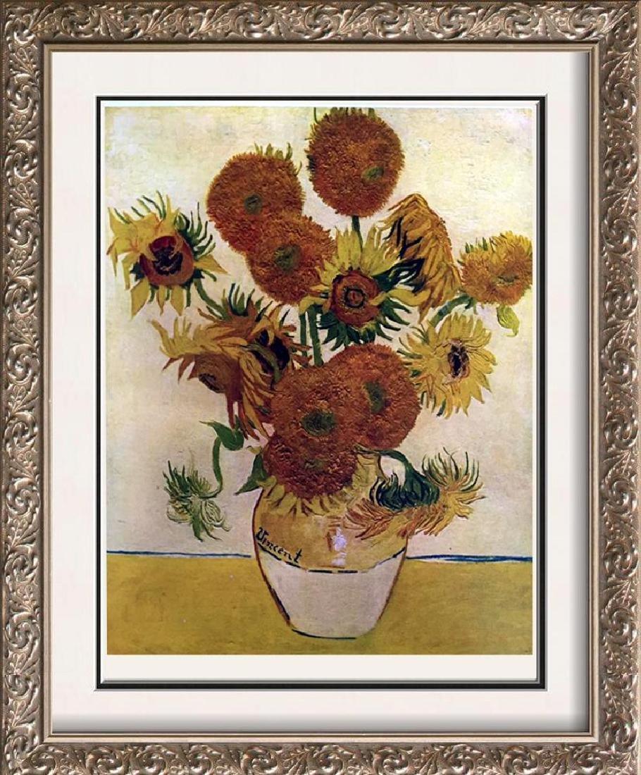 Vincent Van Gogh Sunflowers c.1888 Fine Art Print